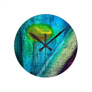 The Hidden Spirit Round Clock