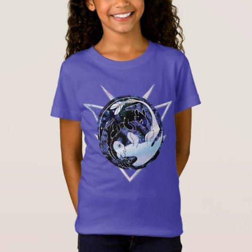 The Hidden World  Night  Light Fury Icon T_Shirt