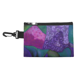 The Hideaway - Abstract Purple and Magenta Heaven Accessories Bags