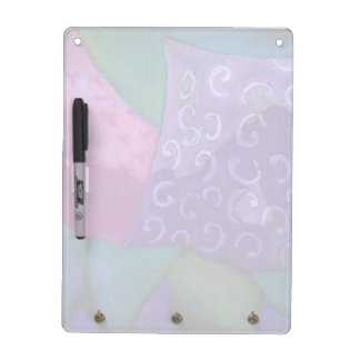 The Hideaway - Abstract Purple and Magenta Heaven Dry Erase Board
