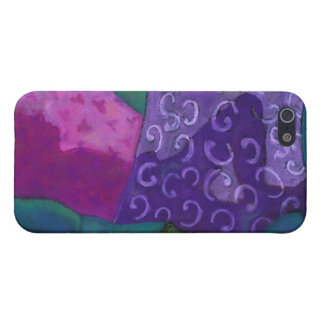 The Hideaway - Abstract Purple and Magenta Heaven Covers For iPhone 5