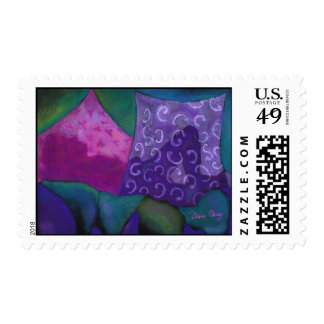 The Hideaway - Purple and Pink Heaven Stamp