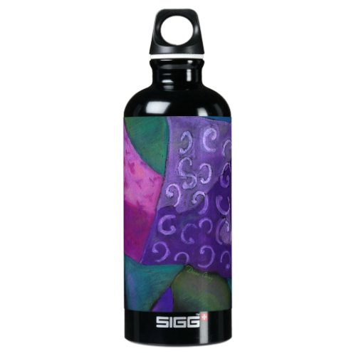 The Hideaway, Purple Pink Heaven Aluminum Water Bottle