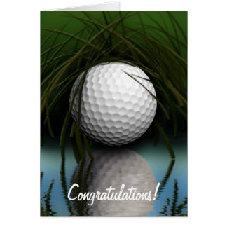 """THE HIDING PLACE"" Fun Golfer's Greeting Cards"