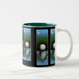 THE HIDING PLACE Funny Golfer's Coffee or Tea Mug