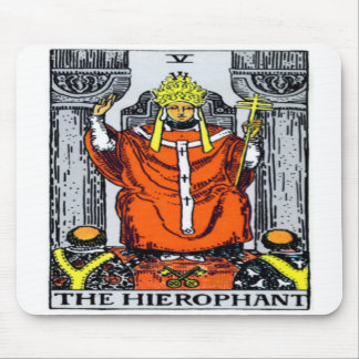 The Hierophant Mouse Pad