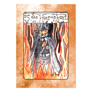 The Hierophant Tarot Card Business Cards