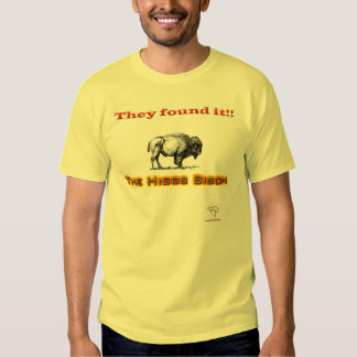 The Higgs Bison T-shirt
