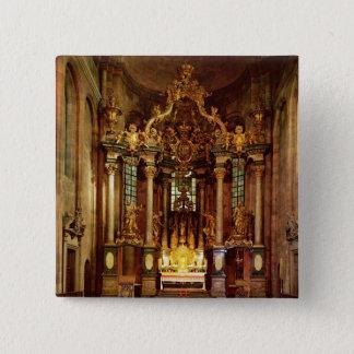The high altar in the east choir button