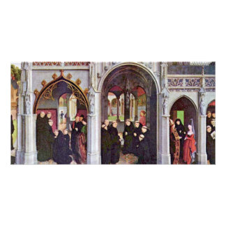 The High Altar Of The Abbey Church Of Saint-Bertin Photo Card Template