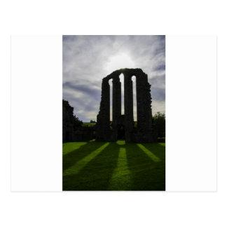 The High Altar sun beams Postcard