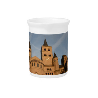 The High Cathedral of Saint Peter, Trier Beverage Pitcher
