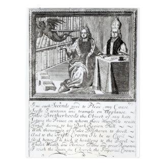 The High Church Champion, Pleading his own Postcard