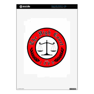 The High Court band logo Skins For iPad 2