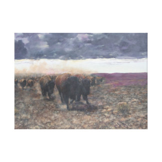 The high plains drifters canvas print