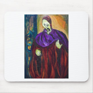 The High Priest (expressionism portrait) Mouse Pad