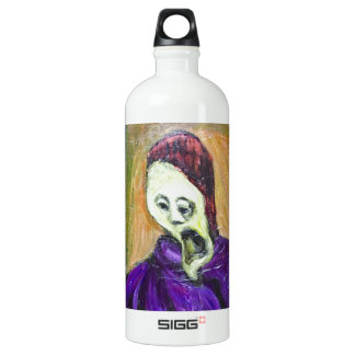 The High Priest (expressionism portrait) Water Bottle