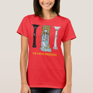 The High Priestess Basic Tee - Red