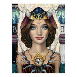 The High Priestess Postcard