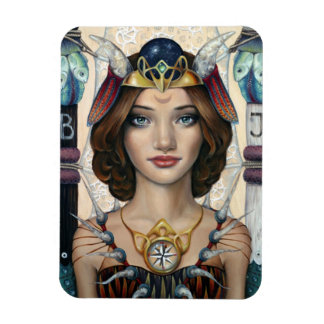 The High Priestess Rectangular Photo Magnet