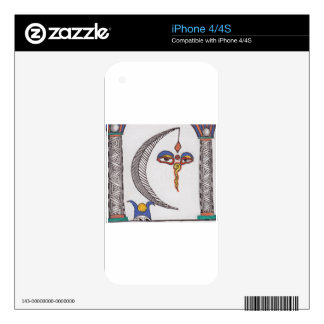 the high priestess iPhone 4S decal