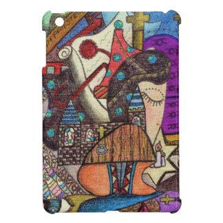 The High Priestess Tarot card by Kaye Talvilahti Case For The iPad Mini