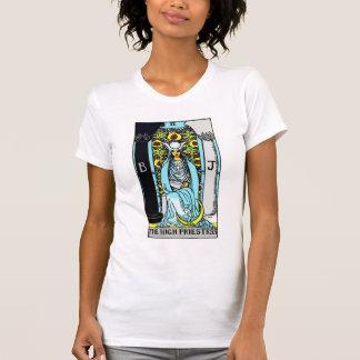 The High Priestess Tarot Card T-Shirt