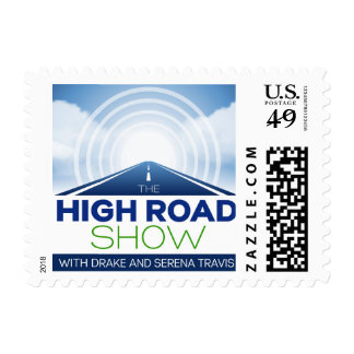 The High Road Show stamp