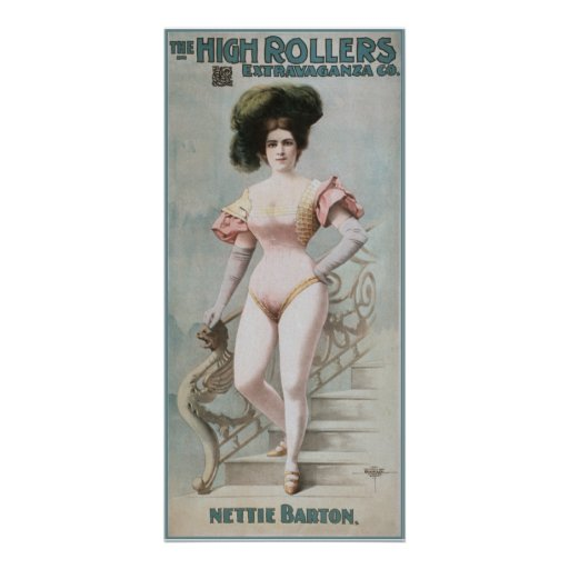 The High Rollers -  Nettie Barton Poster