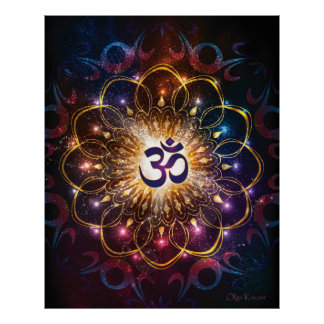 The higher power of Om Poster