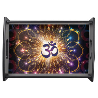 The higher power of Om Serving Tray