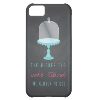 The Higher the Cake Stand the Closer to God iPhone 5C Case
