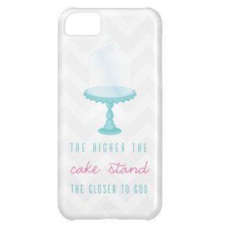 The Higher the Cake Stand the Closer to God iPhone 5C Covers
