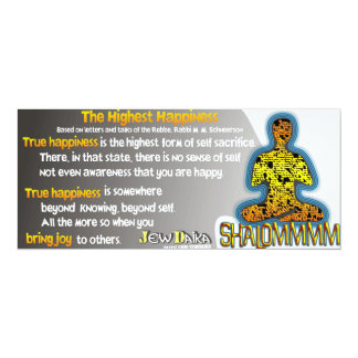 The Highest Happiness Card
