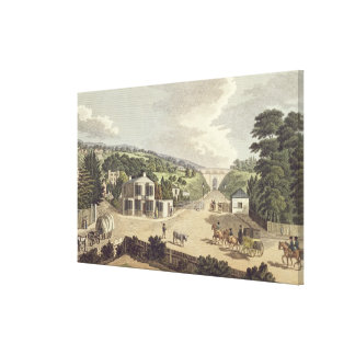The Highgate Archway Canvas Print