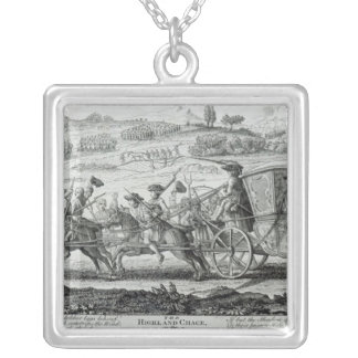 The Highland Chase, 21st February 1745 Silver Plated Necklace