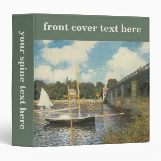 The Highway Bridge at Argenteuil by Claude Monet Binders