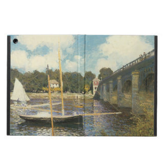 The Highway Bridge at Argenteuil by Claude Monet iPad Air Cover