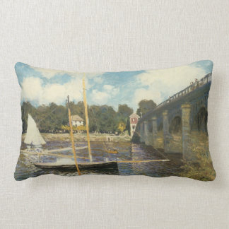 The Highway Bridge at Argenteuil by Claude Monet Pillows