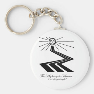 The Highway to Heaven is not always straight! Keychain