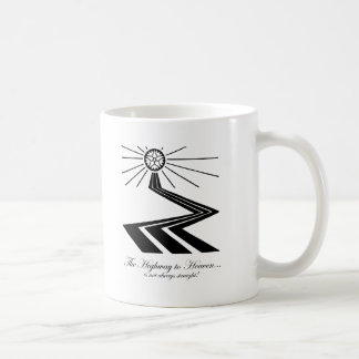 The Highway to Heaven is not always straight! Classic White Coffee Mug