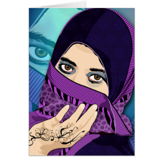 The Hijab Vector Portrait Cards
