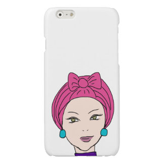 The hijabis glossy iPhone 6 case