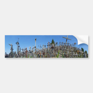 The Hill of Crosses of Northern Lithuania Bumper Sticker