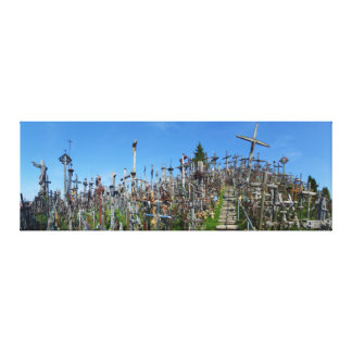 The Hill of Crosses of Northern Lithuania Canvas Print