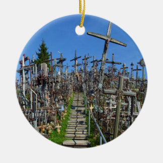 The Hill of Crosses of Northern Lithuania Ceramic Ornament