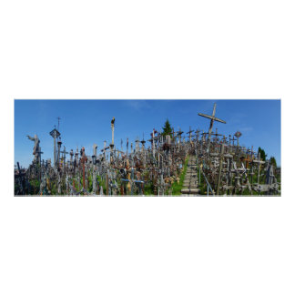 The Hill of Crosses of Northern Lithuania Poster