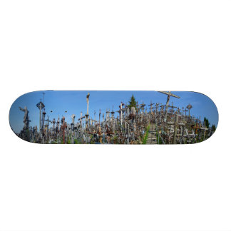The Hill of Crosses of Northern Lithuania Skateboard Deck