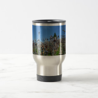 The Hill of Crosses of Northern Lithuania Travel Mug