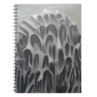 The Hill (surrealism nature pattern) Notebooks
